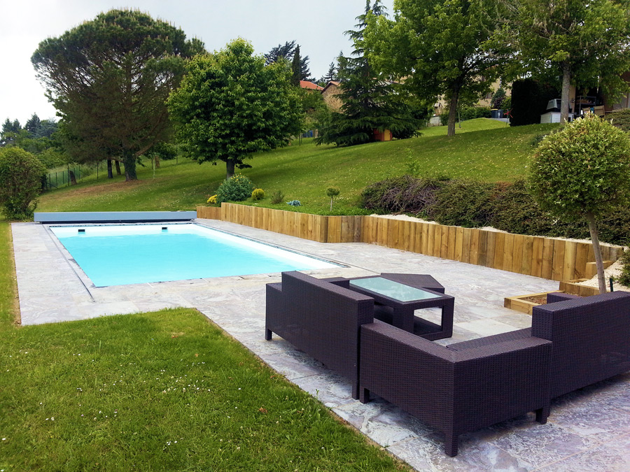 Exemple devis piscine good piscine x gri escalier sous for Piscine creuse